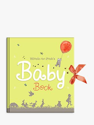 Winnie The Pooh Baby Days Record Book
