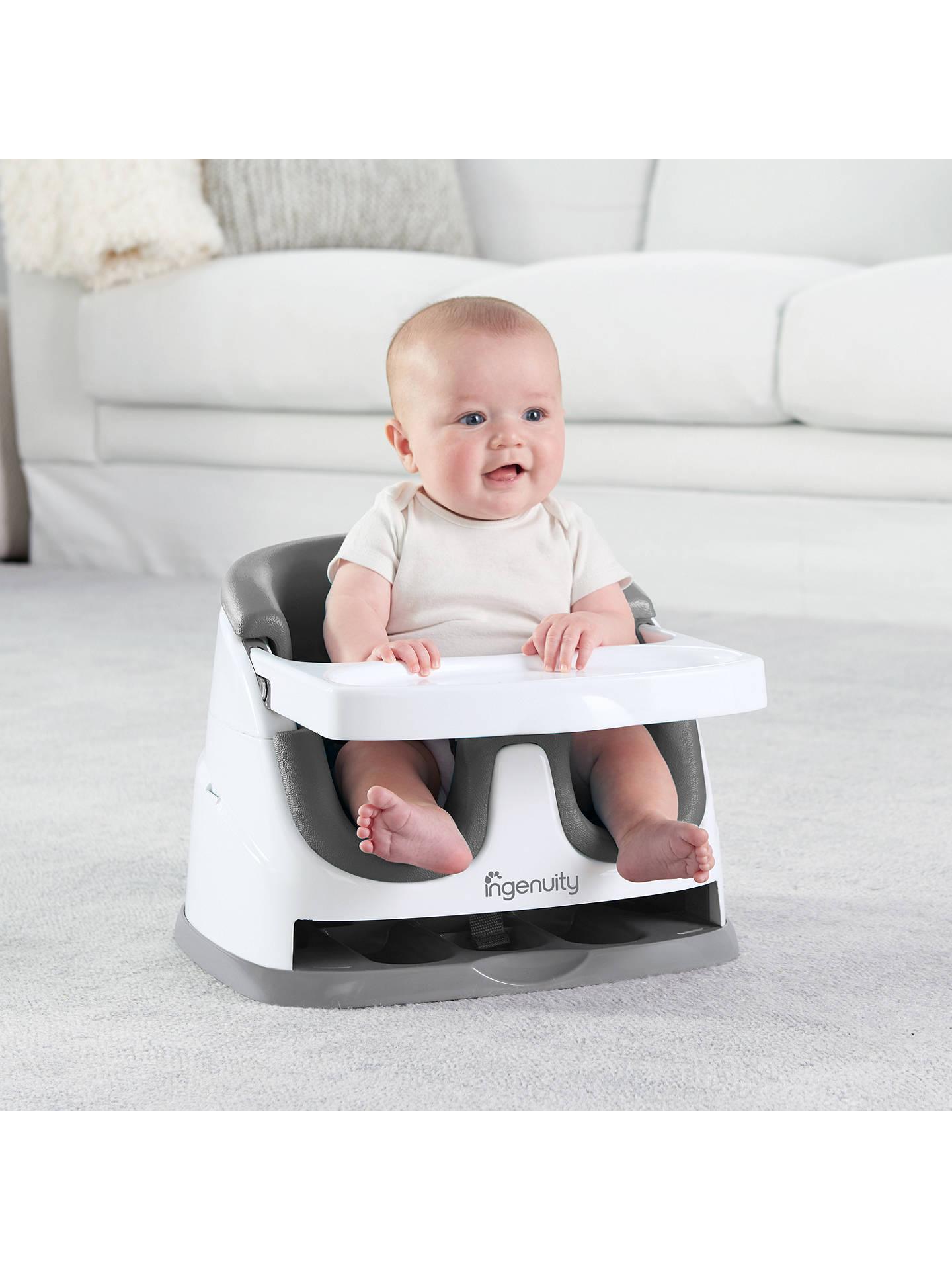 Ingenuity Baby Booster Feeding Seat At John Lewis Partners