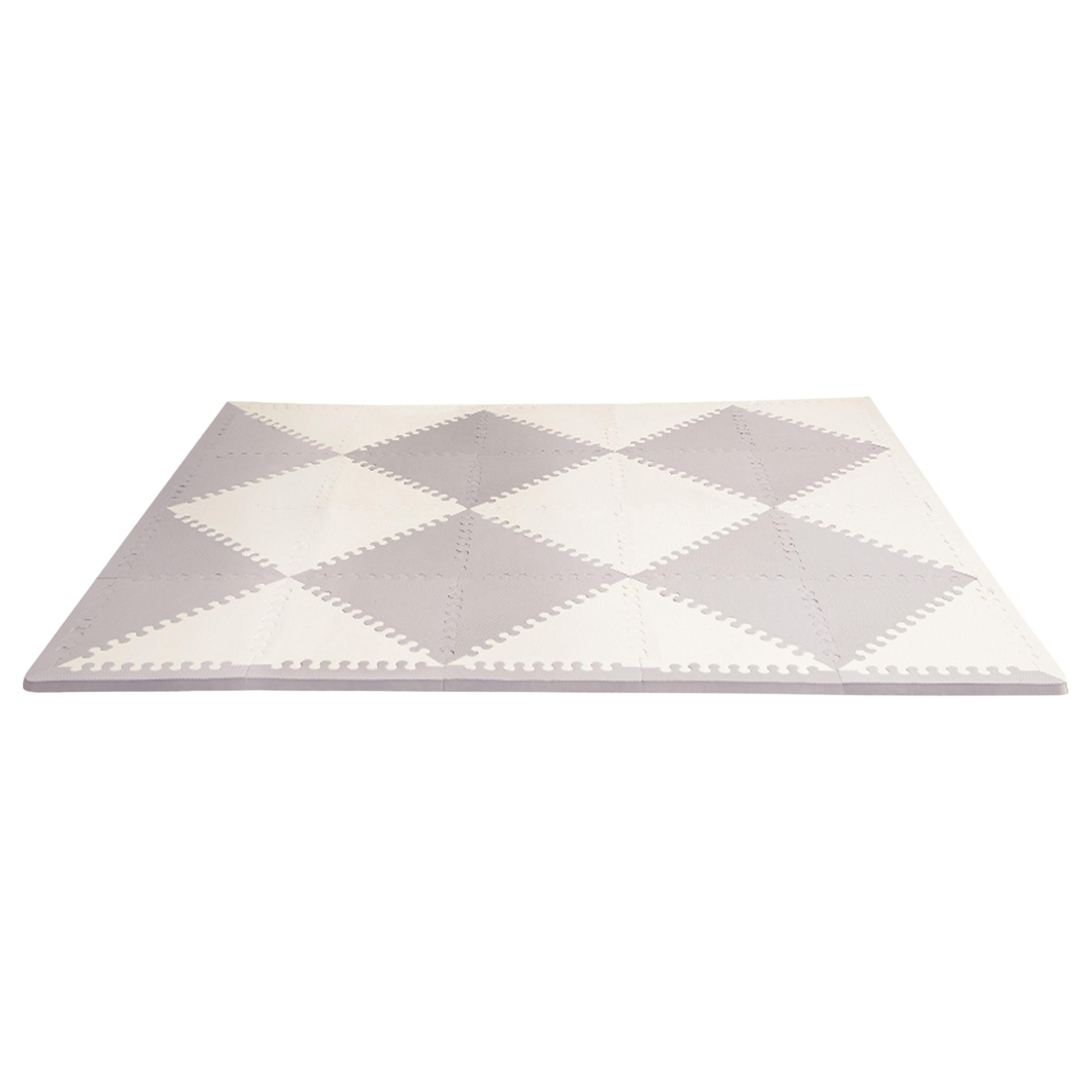 Skip Hop Skip Hop Playspot Foam Floor Tiles, Grey