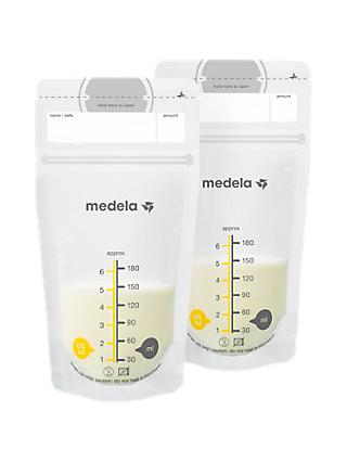 Medela Breastmilk Storage Bags, Pack of 50