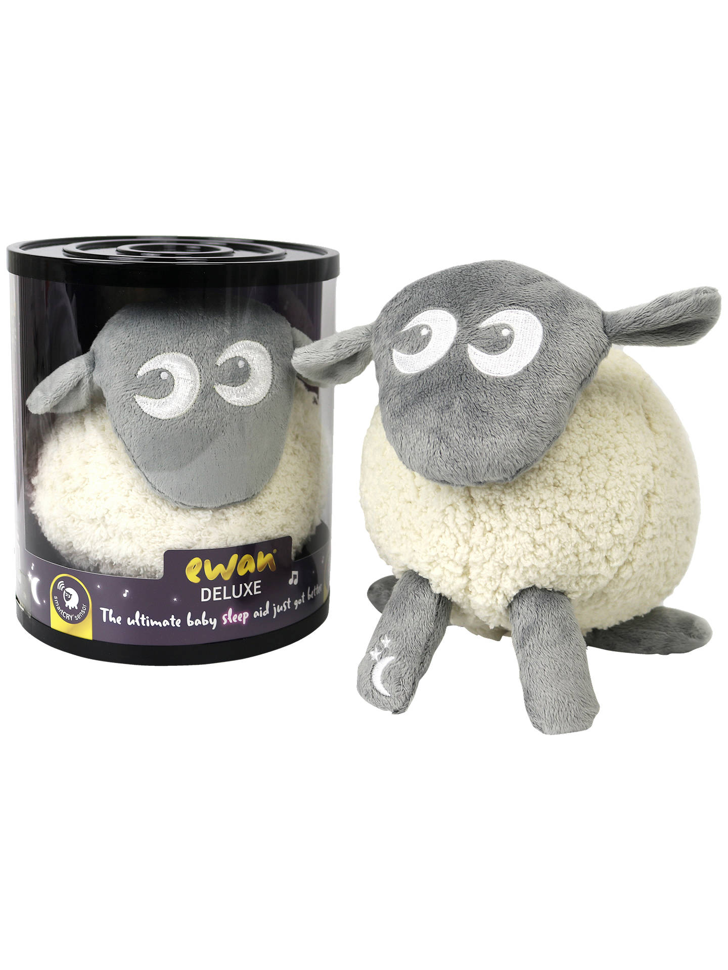 Buy Ewan The Dream Sheep Deluxe, Grey Online at johnlewis.com