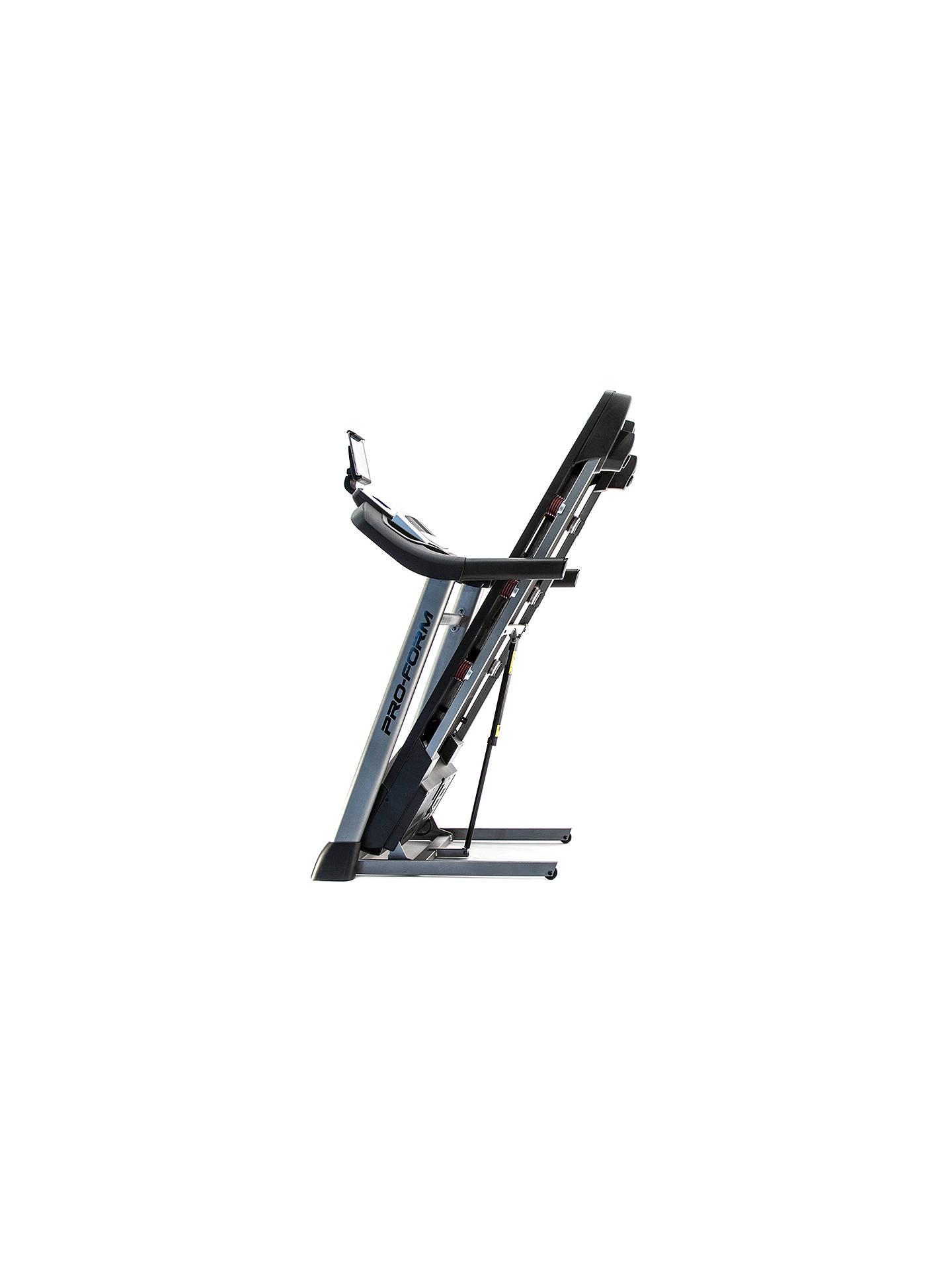ProForm Power 595i Folding Treadmill at John Lewis & Partners