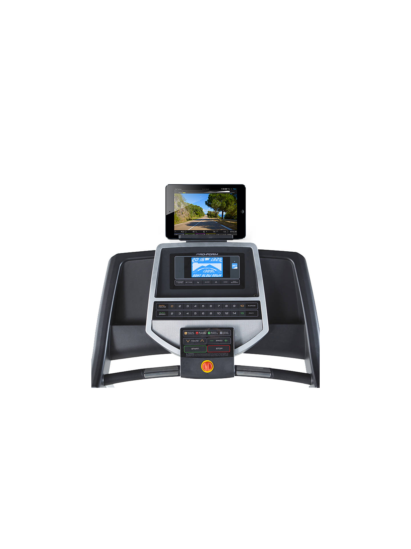 Buy ProForm 305 CST Treadmill Online at johnlewis.com
