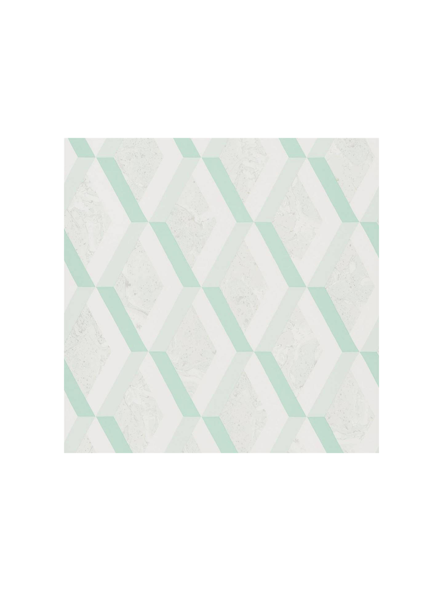BuyDesigners Guild Jourdain Wallpaper, Jade PDG1054/07 Online at johnlewis.com