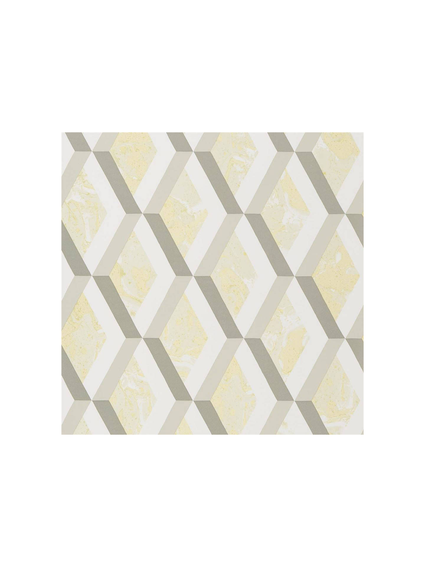 BuyDesigners Guild Jourdain Wallpaper, Limelight PDG1054/03 Online at johnlewis.com