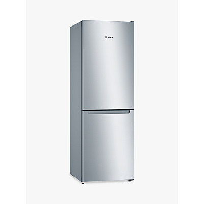 Bosch KGN33NL3AG Fridge Freezer, A++ Energy Rating, 60cm Wide, Stainless Steel Look