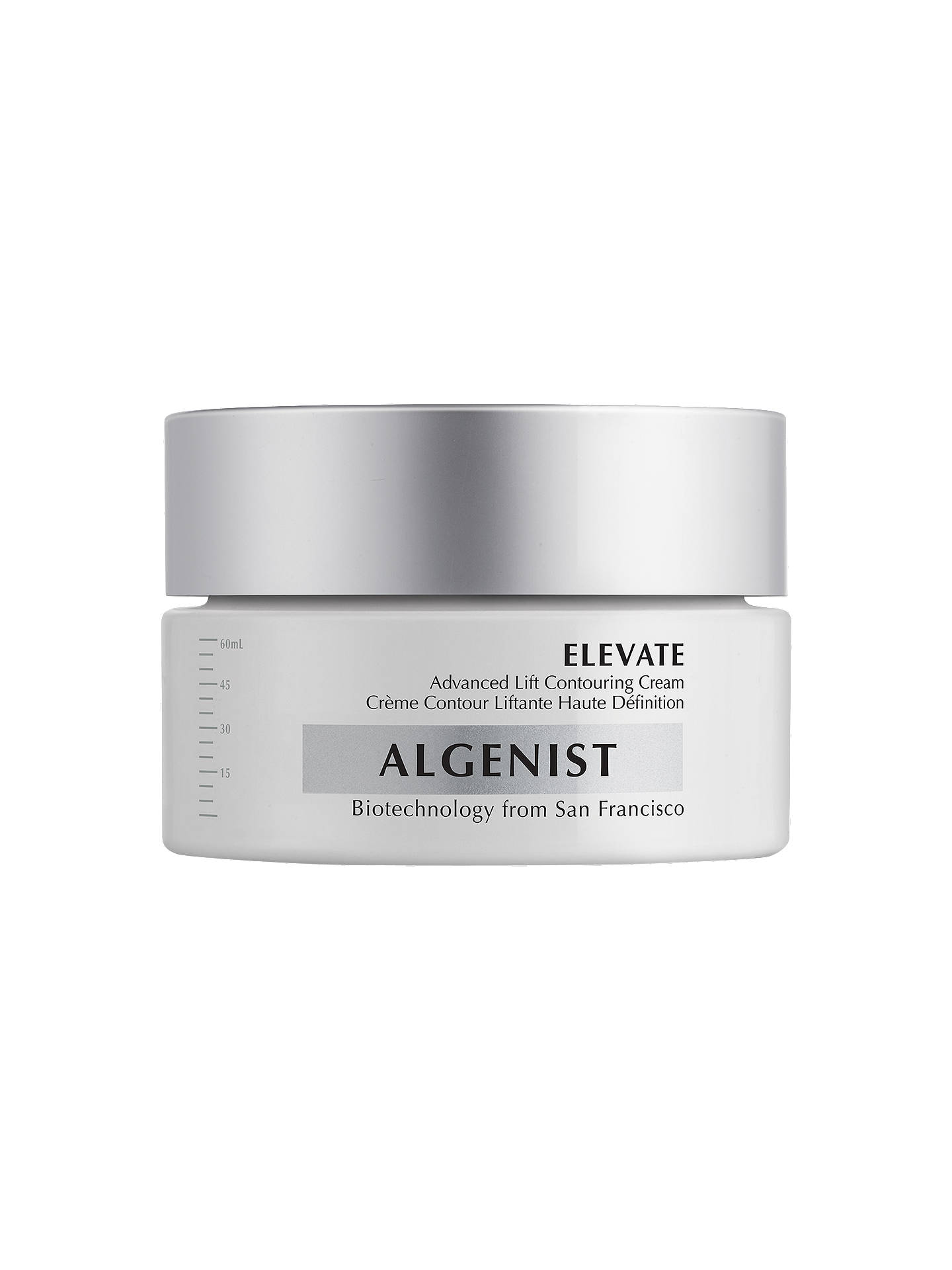 Buy Algenist Elevate Advanced Lift Contouring Cream, 60ml Online at johnlewis.com