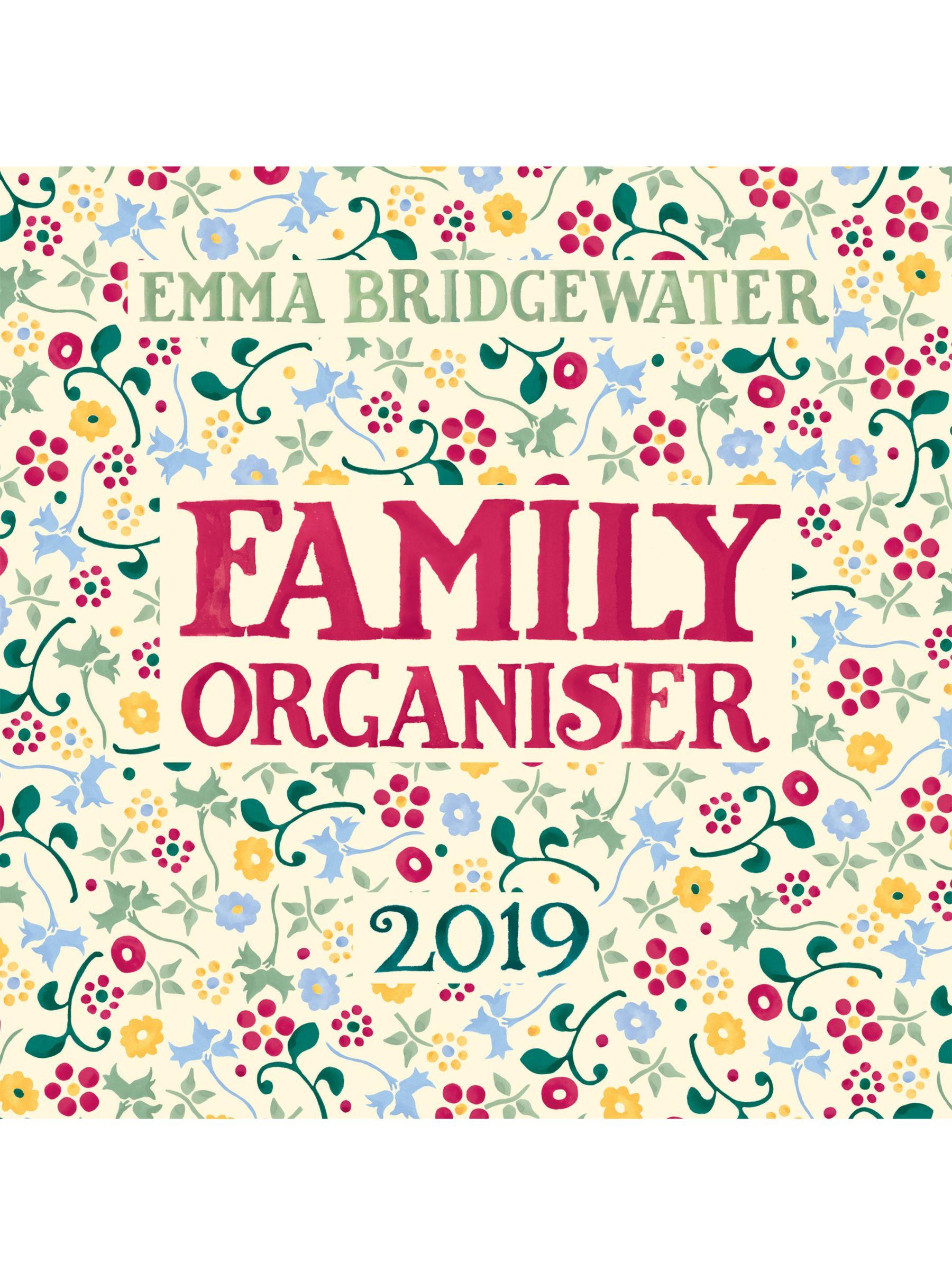 photograph regarding Family Planner Calendar identified as Emma Bridgewater 2019 Household Planner Calendar