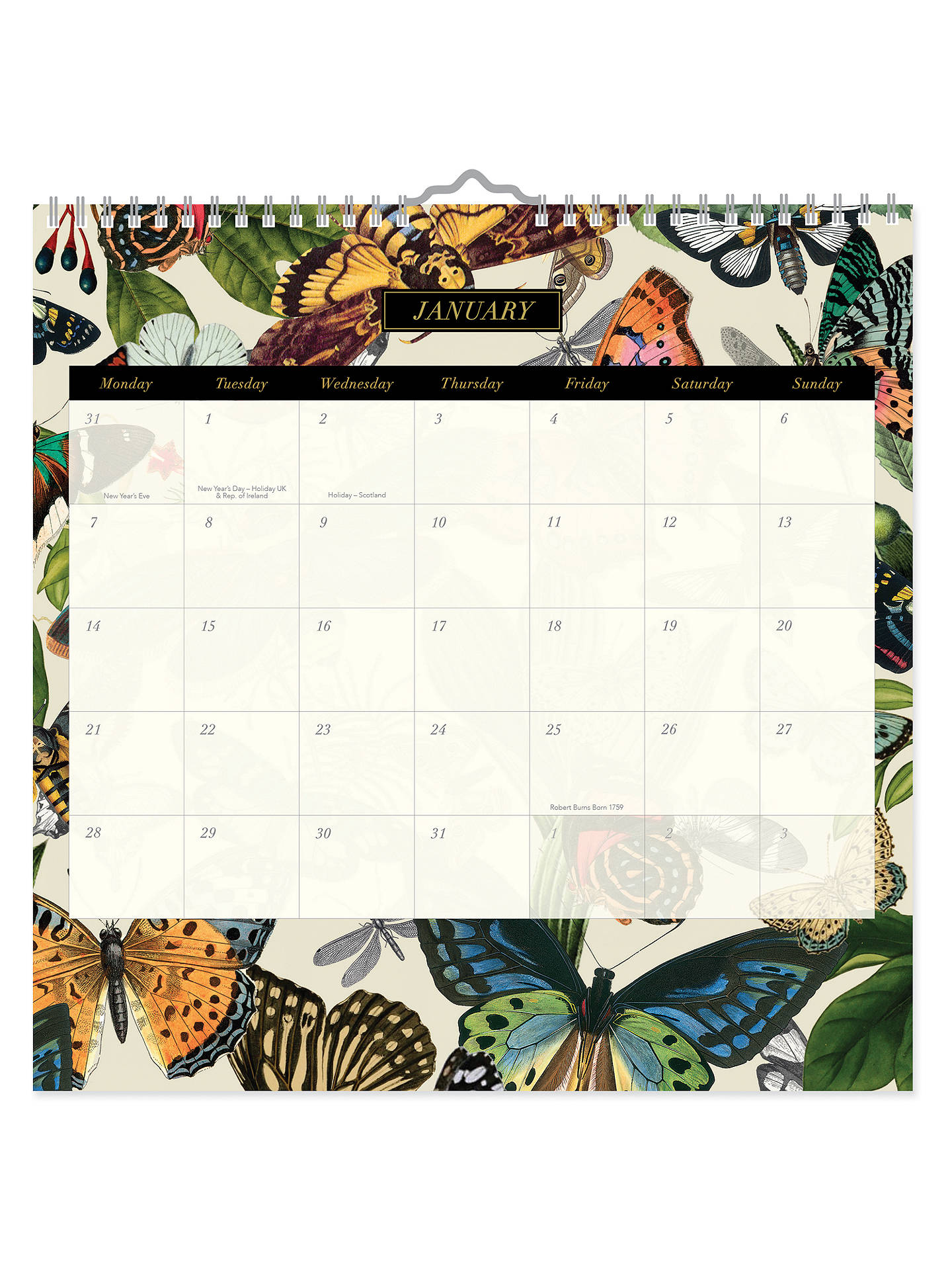 Buy Portico Archive Square Wiro 2019 Calendar Online at johnlewis.com