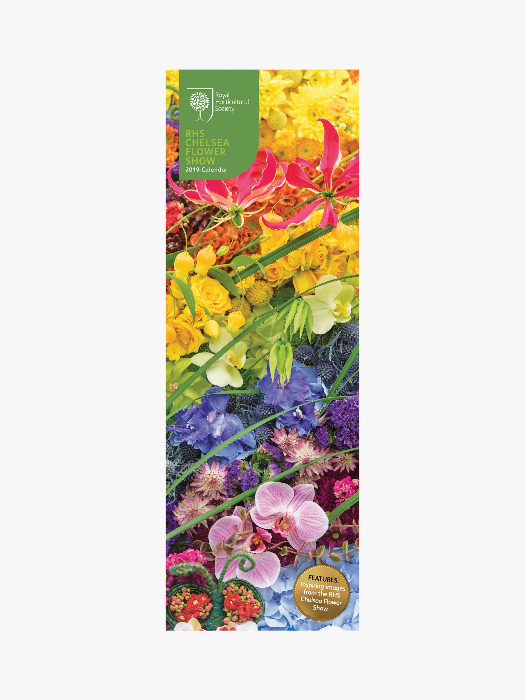 Rhs Chelsea Flower Show Slim 2019 Calendar At John Lewis Partners