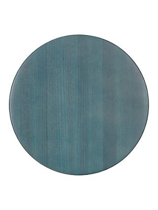 Design Project By John Lewis No 176 Stained Wood Placemat Blue