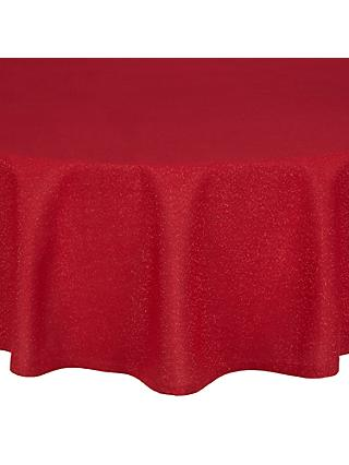 John Lewis & Partners Round Sparkle Tablecloth, Dia.180cm