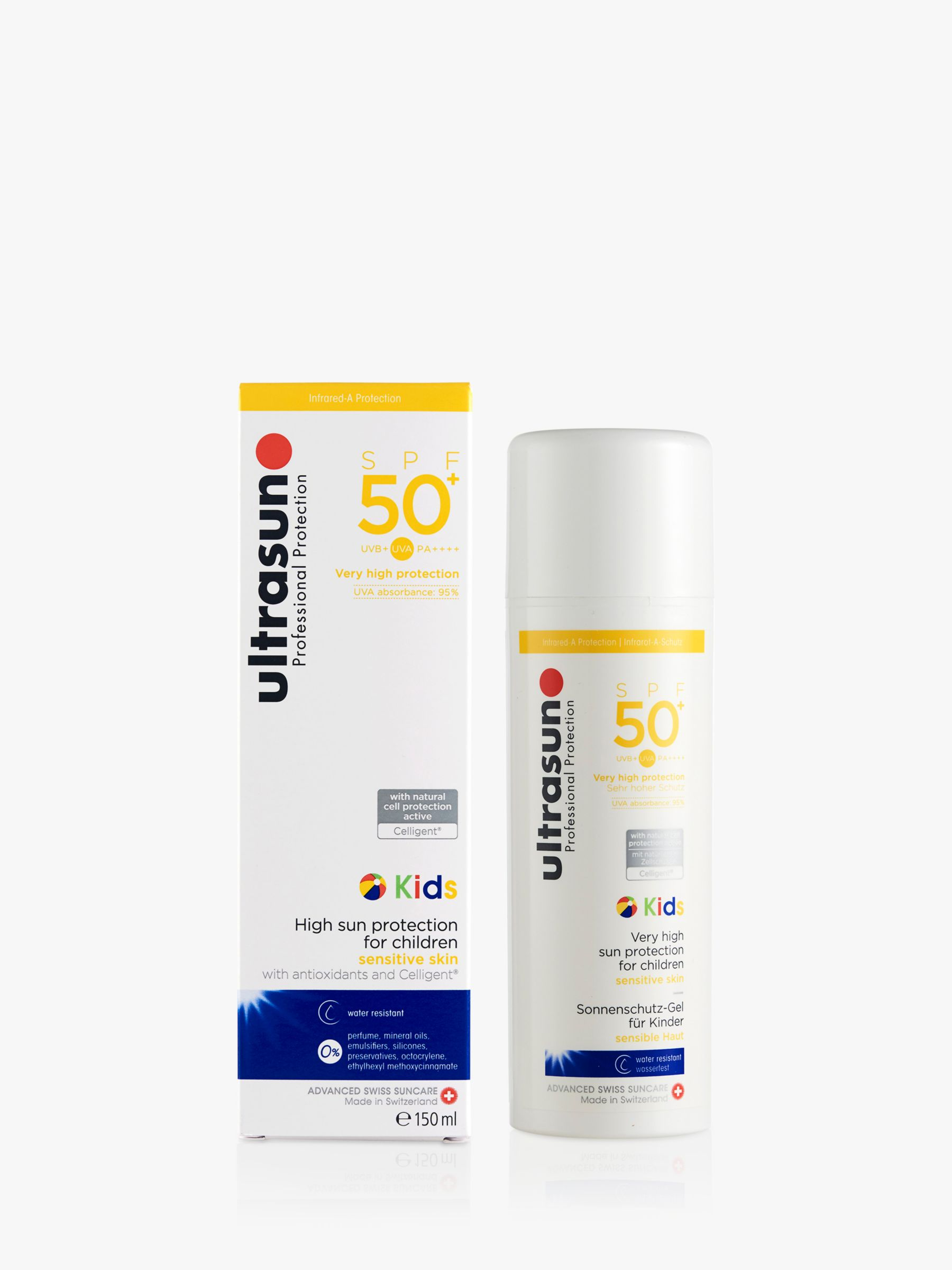Ultrasun Ultrasun Kids SPF50+ High Protection For Children Sun Cream, 150ml