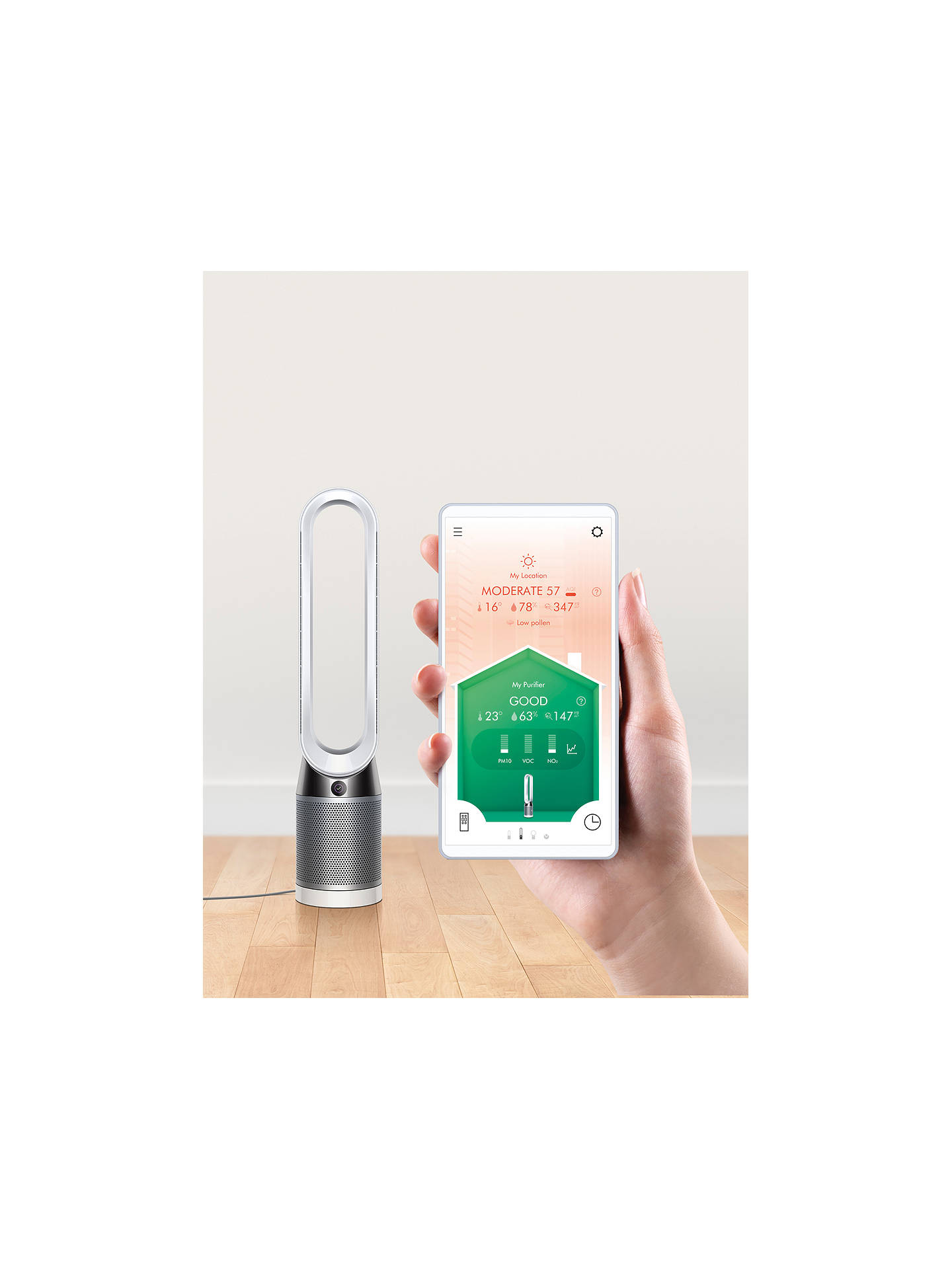 Dyson Tp04 Pure Cool Advanced Technology Purifying Tower