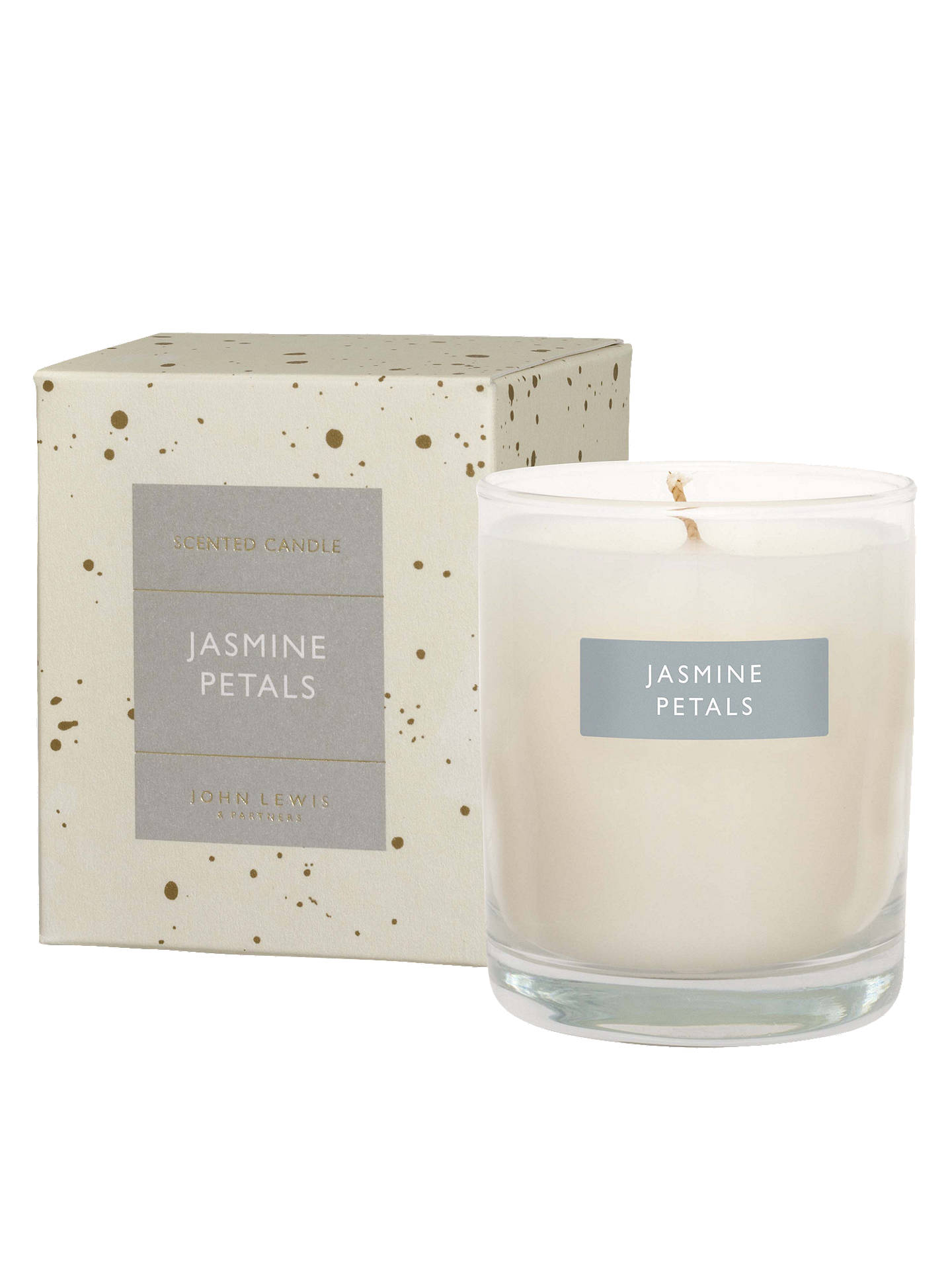 BuyJohn Lewis & Partners Jasmine Petals Scented Candle, 180g Online at johnlewis.com