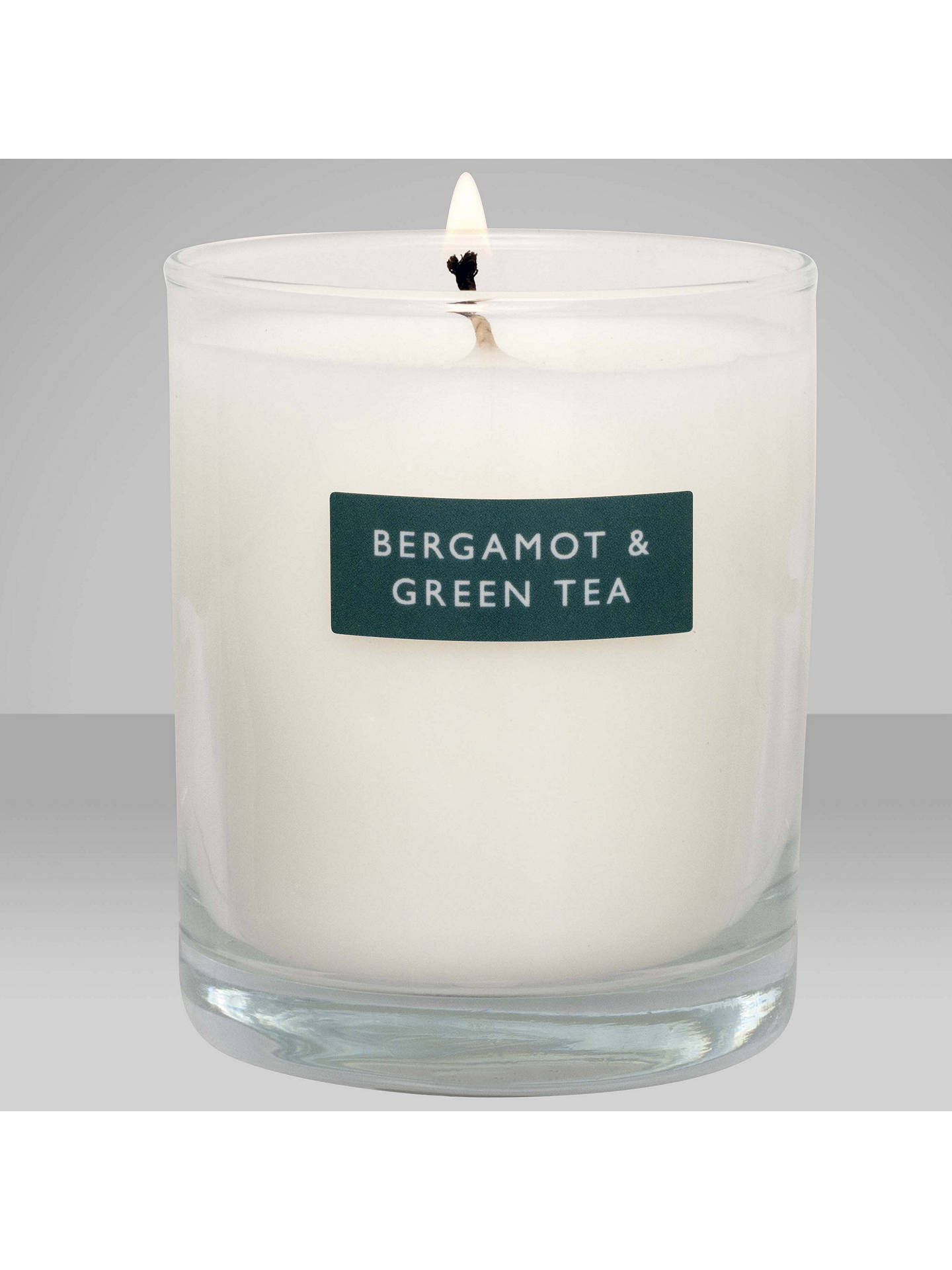 BuyJohn Lewis & Partners Bergamot & Green Tea Scented Candle, 180g Online at johnlewis.com