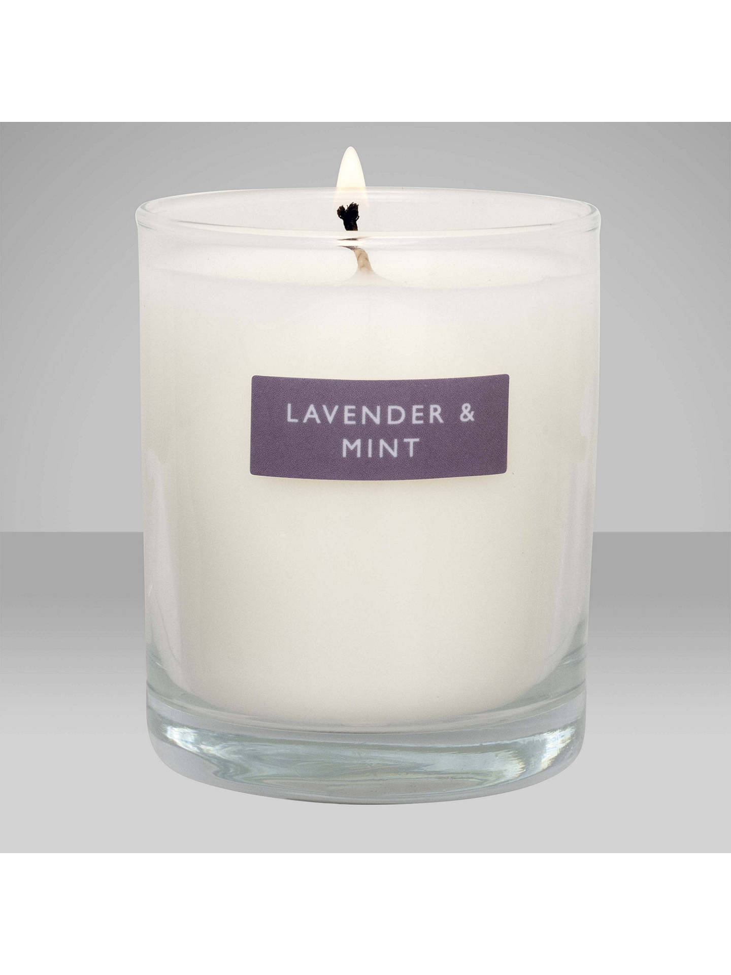 BuyJohn Lewis & Partners Lavender & Mint Scented Candle, 180g Online at johnlewis.com