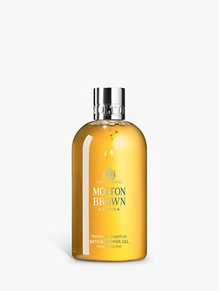 Molton Brown Vetiver & Grapefruit Bath & Shower Gel, 300ml