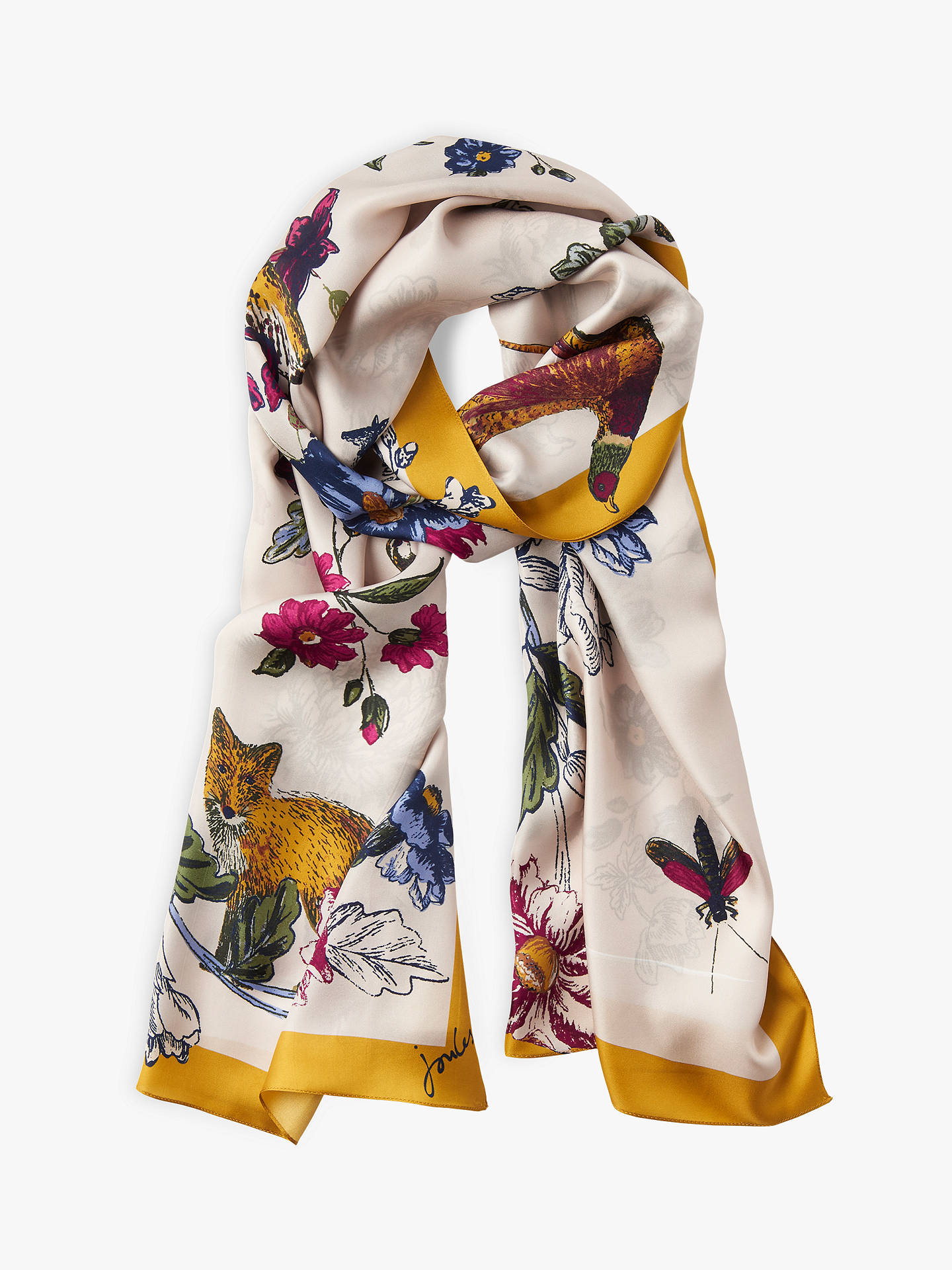 Joules Silk Scarf Home Decorating