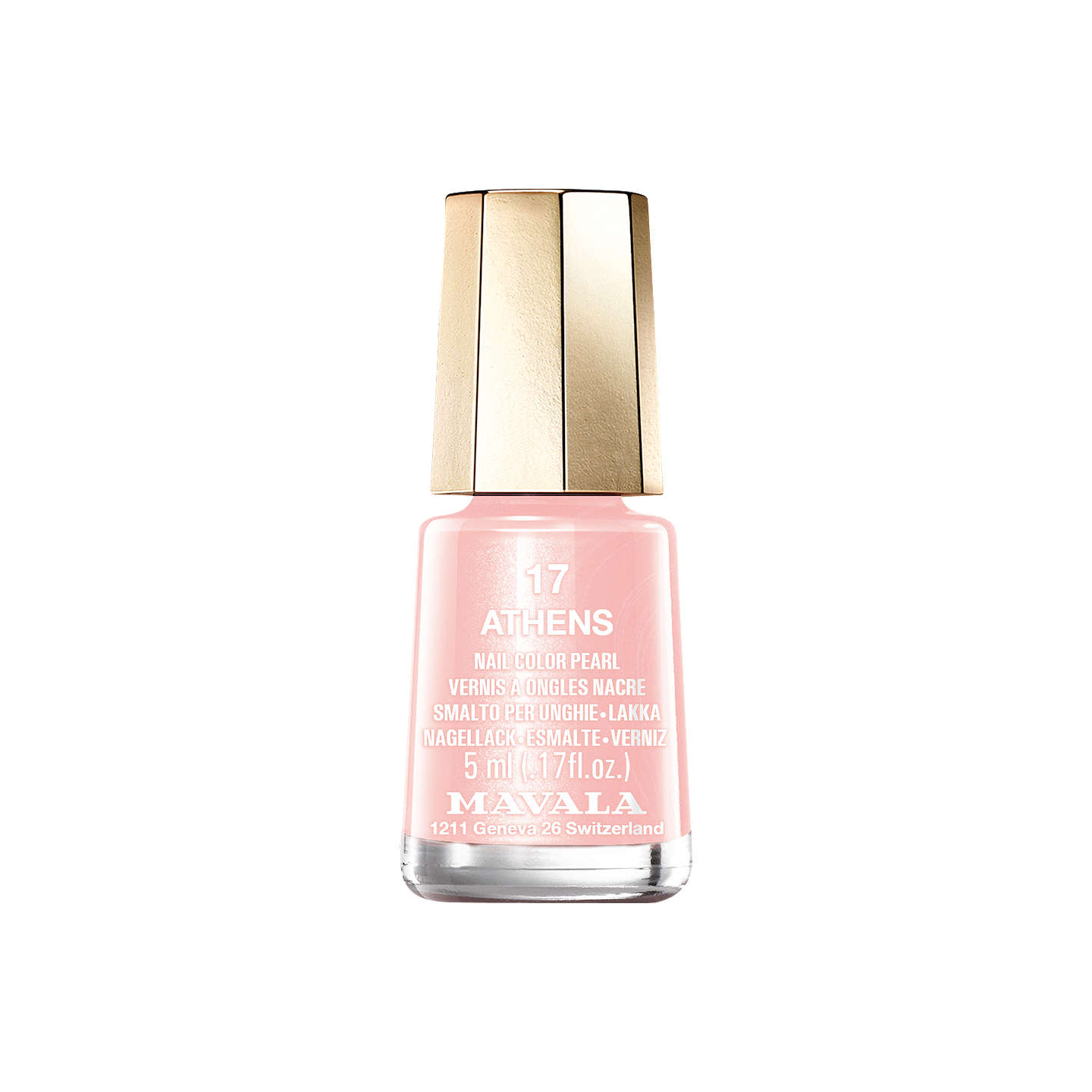 BuyMAVALA Mini Colour Nail Polish   Blush Colour Collection, Athens Online  At Johnlewis.com ...