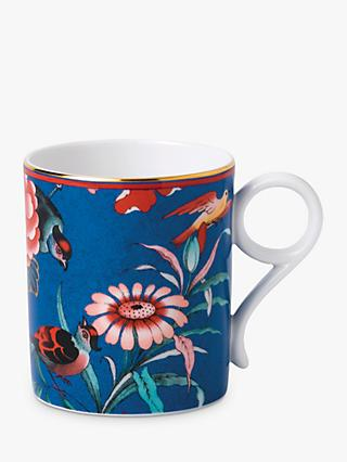 Wedgwood Paeonia Blush Mug, 210ml, Blue