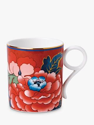 Wedgwood Paeonia Blush Mug, 210ml, Red