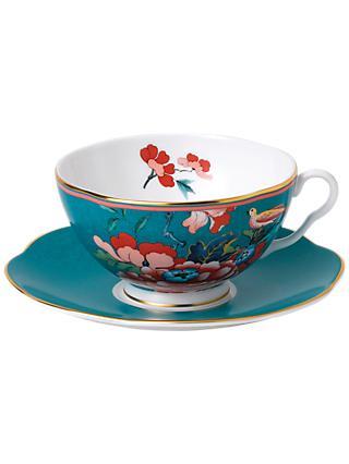 e1ea0e7cf21 Wedgwood Paeonia Blush Tea Cup and Saucer