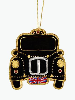 Tinker Tailor London Taxi Tree Decoration, Multi