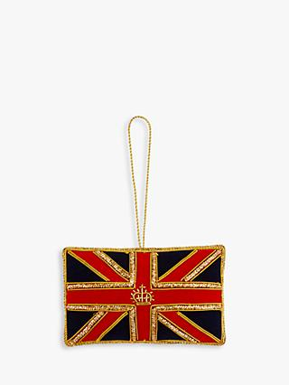 Tinker Tailor Union Flag Tree Decoration