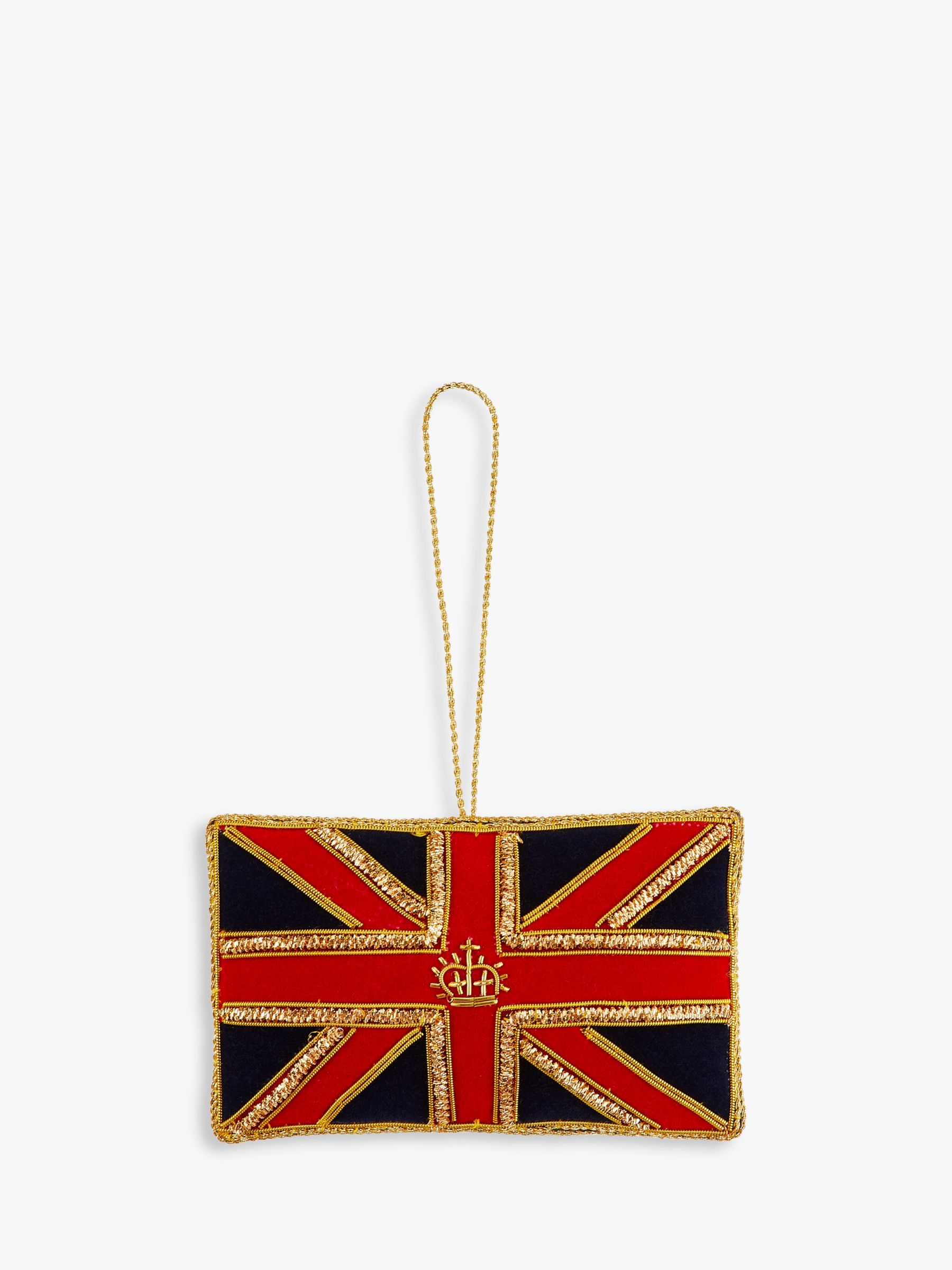 Tinker Tailor Tinker Tailor Union Flag Tree Decoration