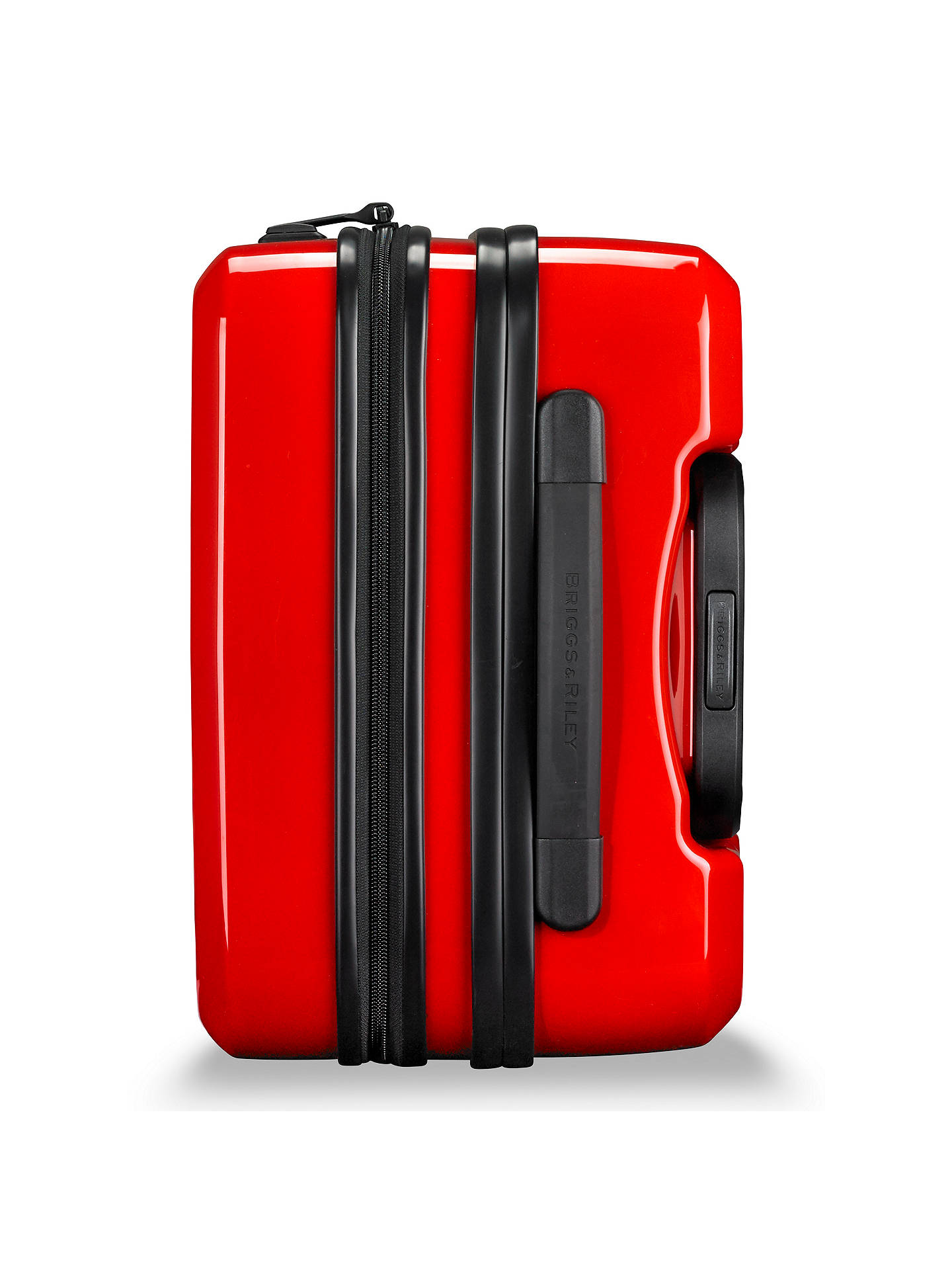 Buy Briggs & Riley Sympatico 4-Wheel Expandable Domestic Cabin Suitcase, Fire Red Online at johnlewis.com