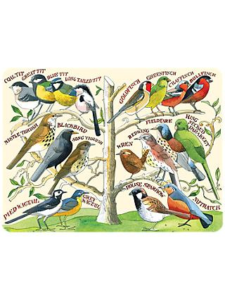 Emma Bridgewater Garden Birds Placemats, Set of 4