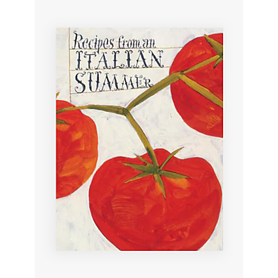 Cookbook: Recipes From An Italian Summer
