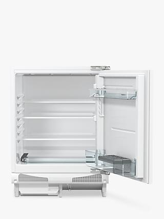 Gorenje RIU6F091AWUK Integrated Undercounter Fridge, A+ Energy Rating, 60cm Wide