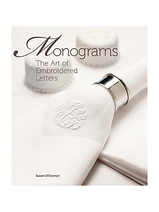 Stitchology Monograms The Art of Embroidered Letters Book