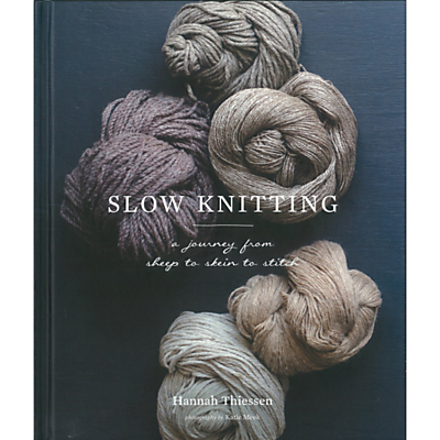 Image of Abrams & Chronicle Books Hannah Thiessen Slow Knitting Book