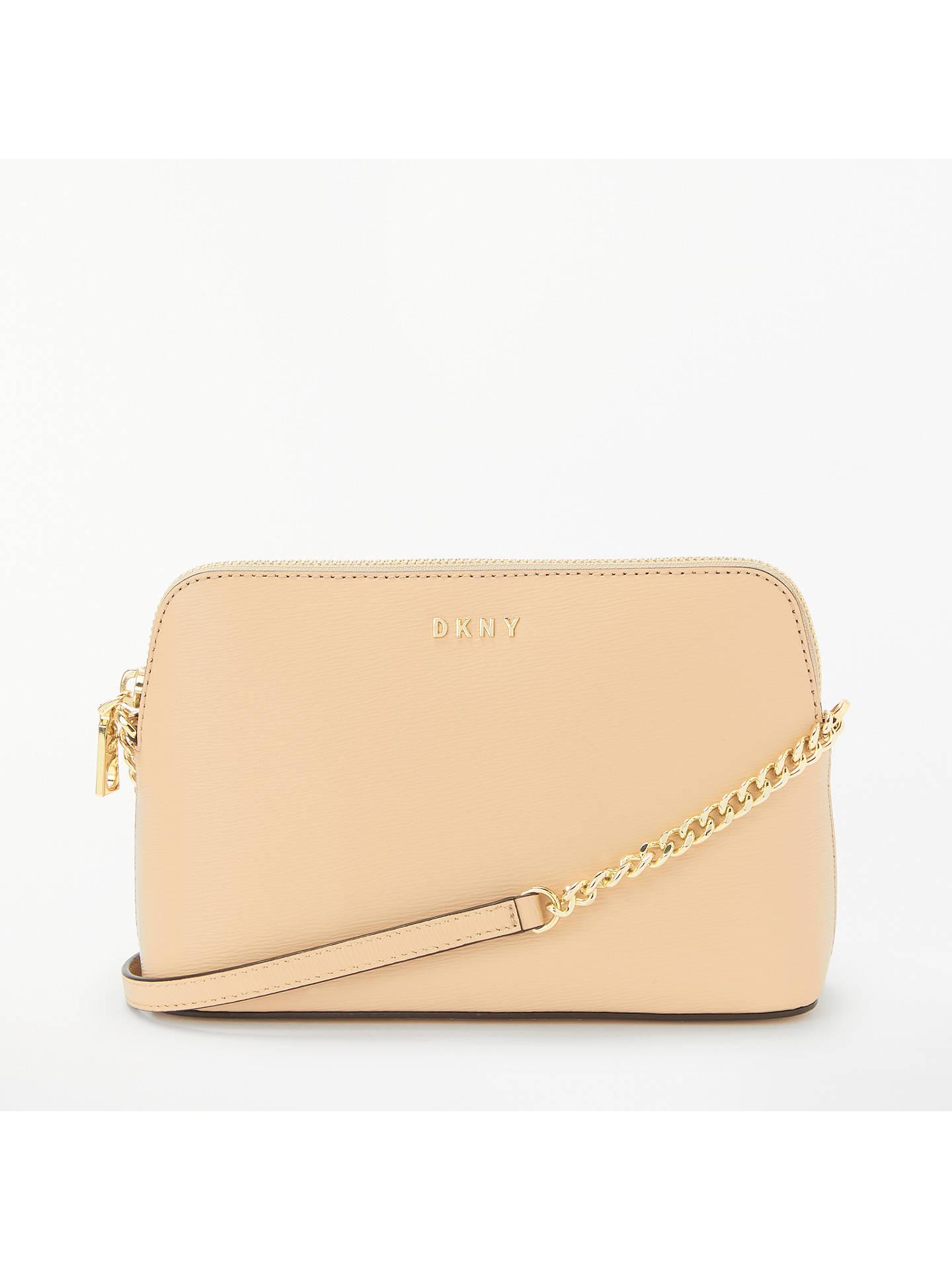 9623d6035 Buy DKNY Bryant Top Zip Cross Body Bag, Eggnog Online at johnlewis.com ...