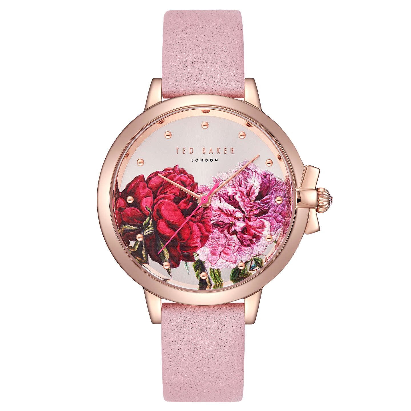 gold the products s rose by suede pink harlowe watches tq watch womens peugeot women