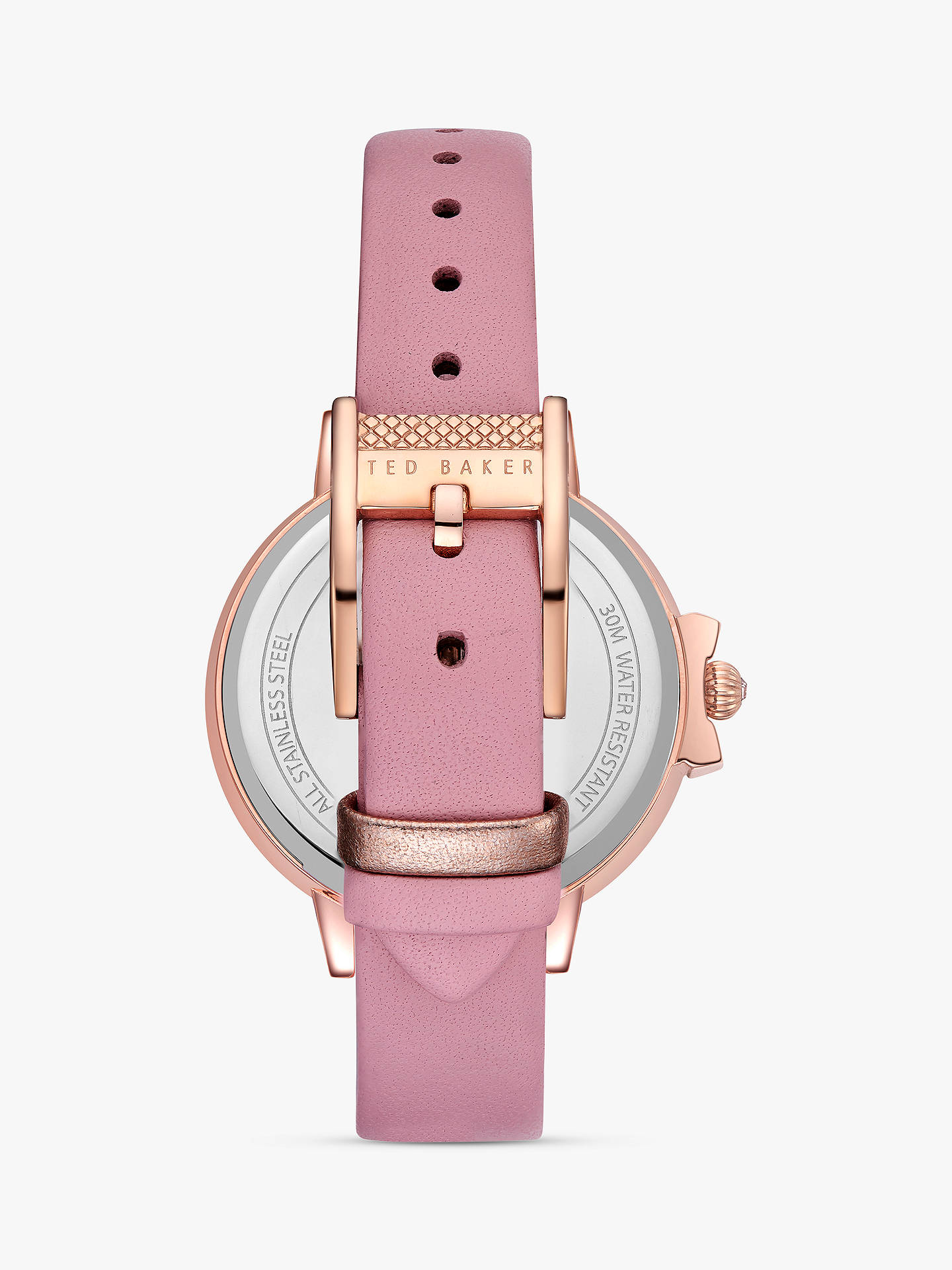 609f18ce693f ... Buy Ted Baker TE50267011 Women s Ruth Leather Strap Watch