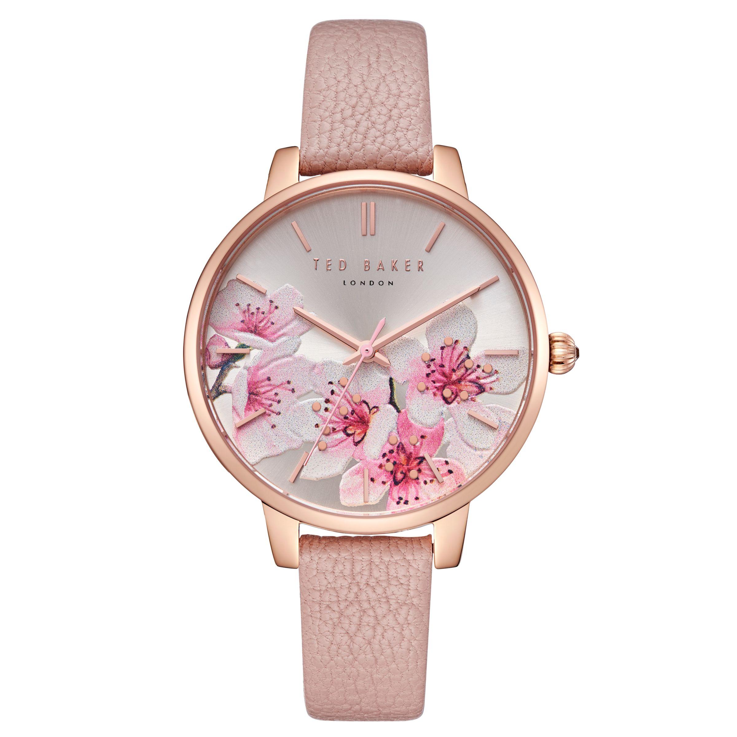 ecf1d87b77aa Ted Baker TE50005004 Women s Kate Leather Strap Watch