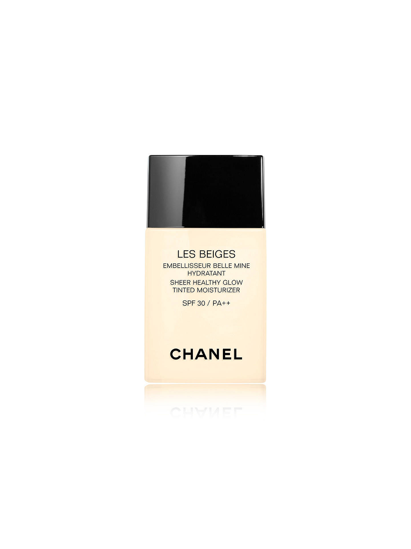 Buy CHANEL Les Beiges Sheer Healthy Glow Tinted Moisturiser SPF 30 / PA++, Medium Online at johnlewis.com