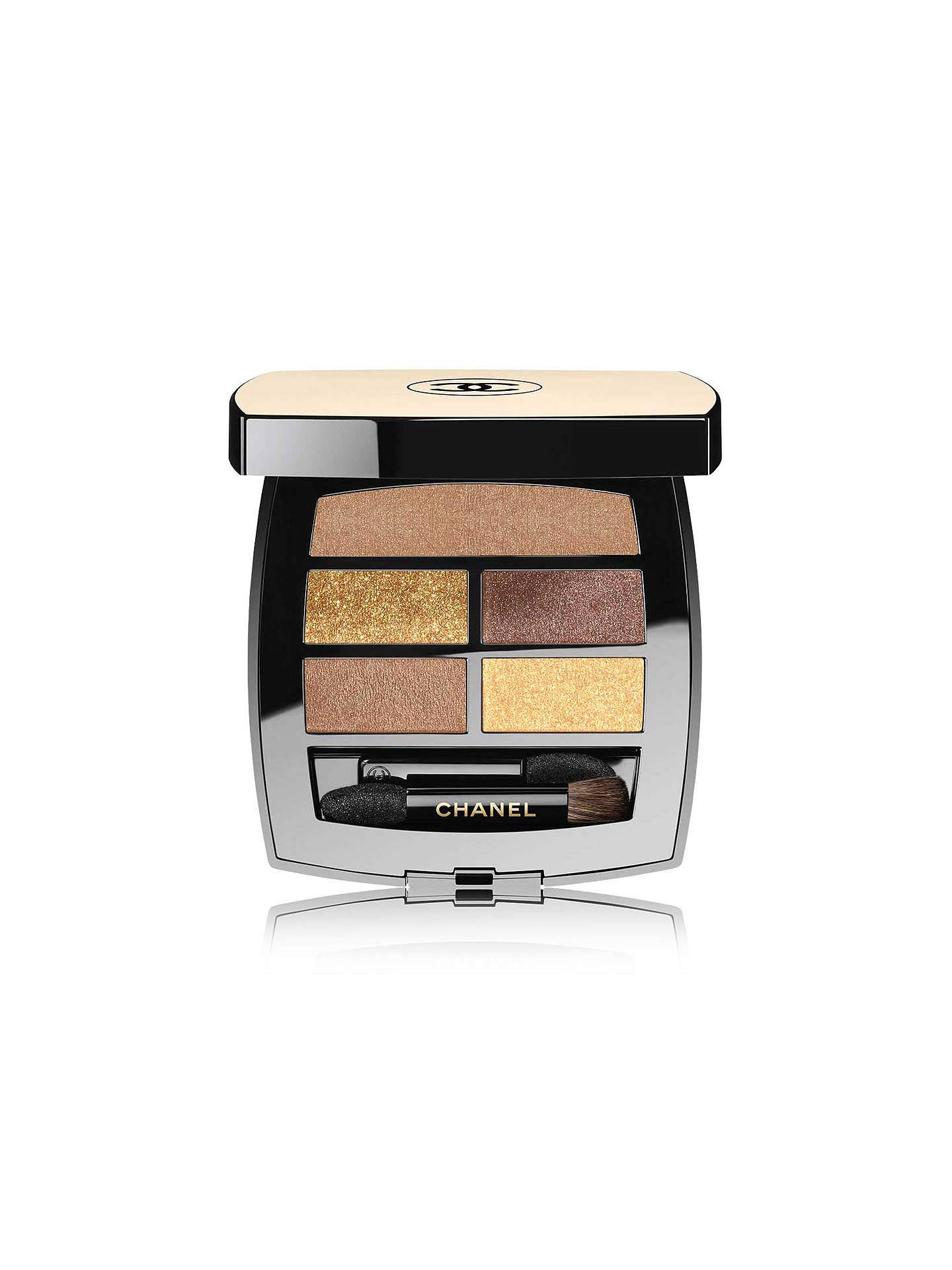 Buy CHANEL Les Beiges Healthy Glow Natural Eyeshadow Palette, Deep Online at johnlewis.com