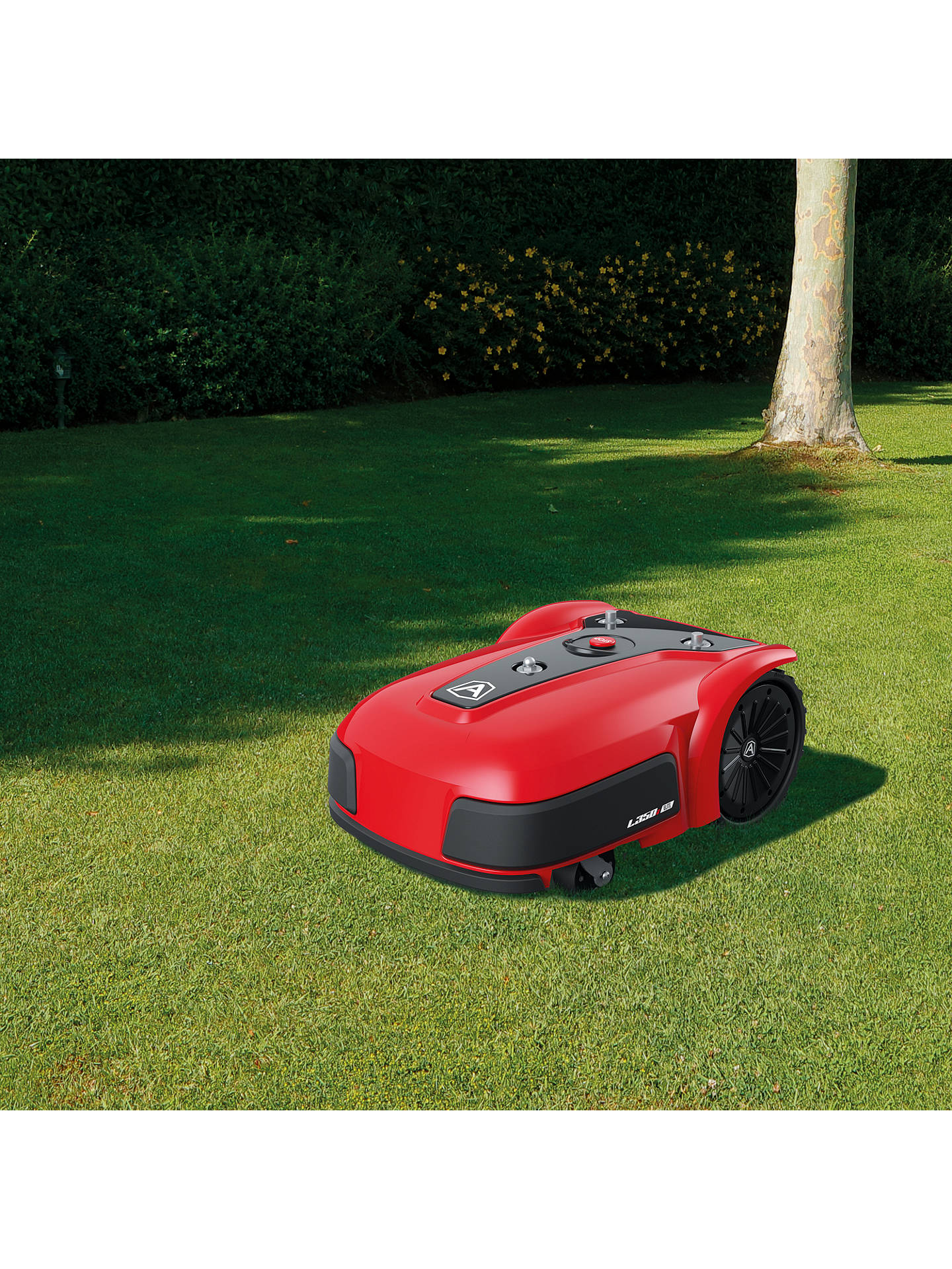 Buy Ambrogio L350i Elite Robotic Self-Propelled Lawnmower, 36cm, Red Online at johnlewis.com