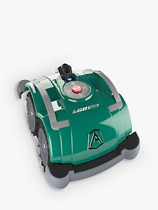 Ambrogio L60 Deluxe Automatic Robotic Self-Propelled Lawn Mower, 25cm, Green
