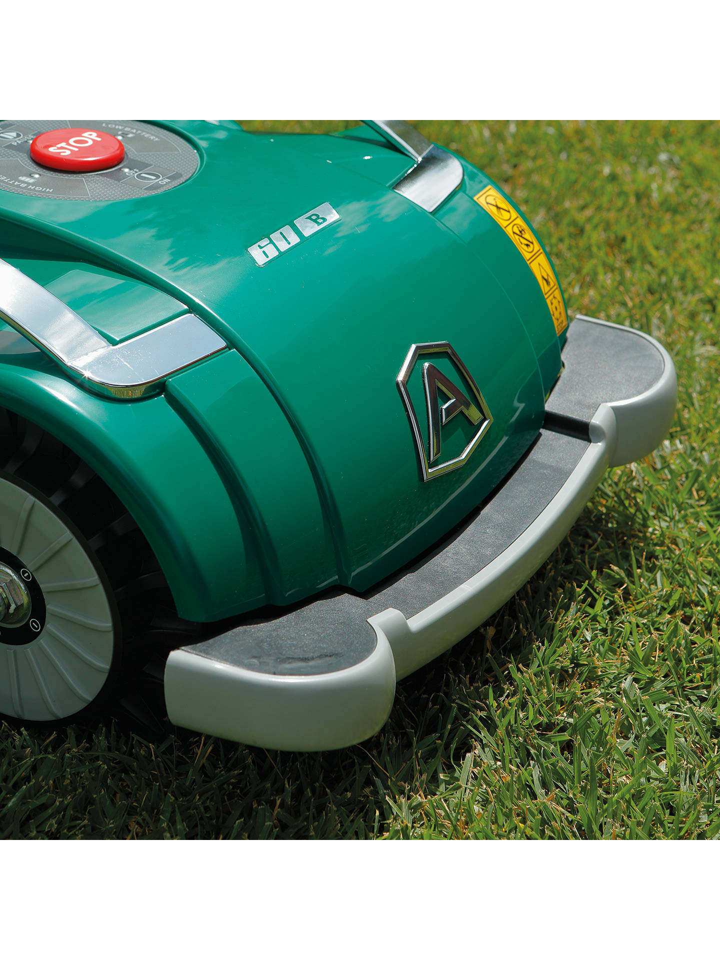 BuyAmbrogio L60 Deluxe Automatic Robotic Lawnmower Online at johnlewis.com