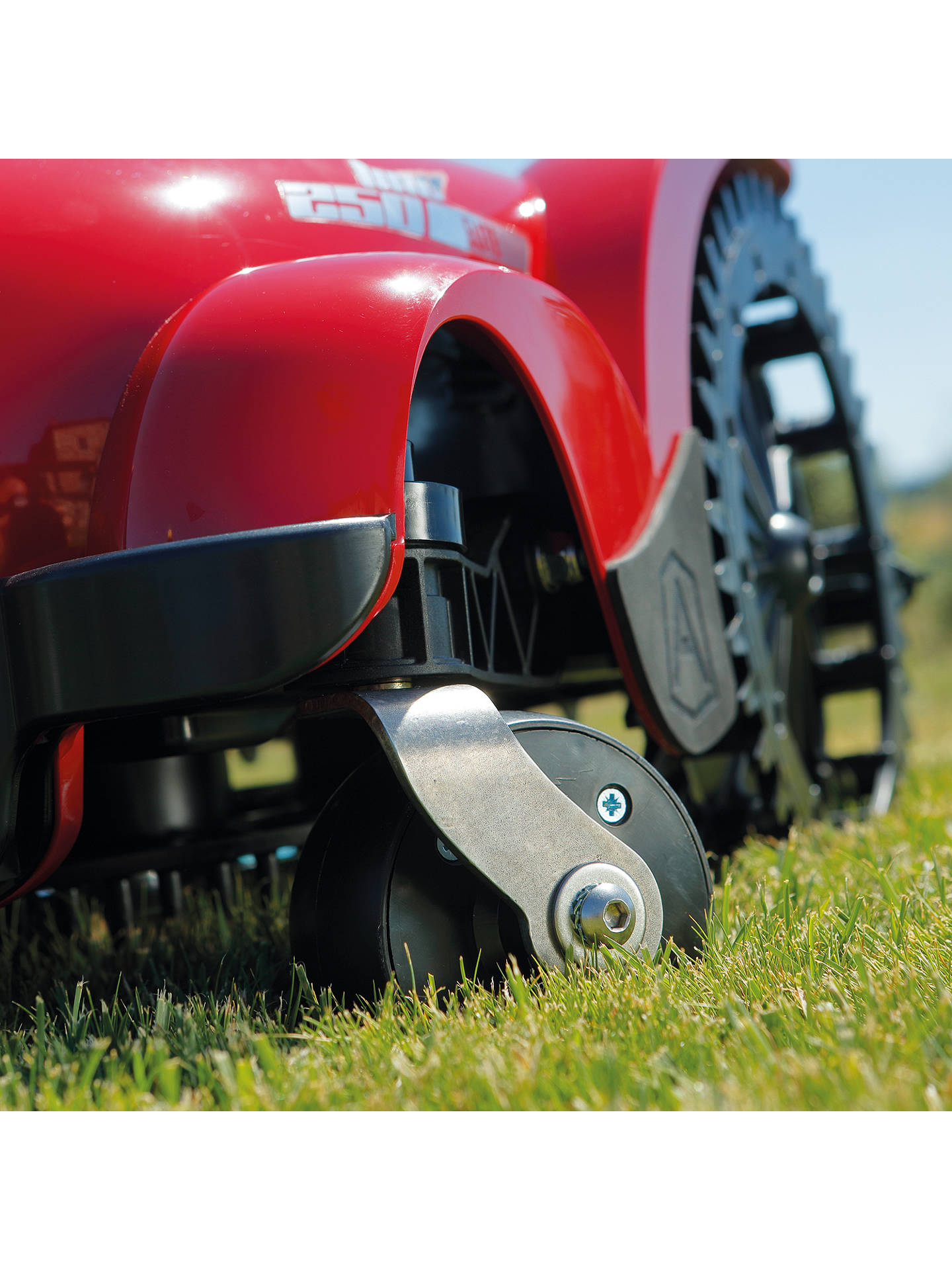 Buy Ambrogio L250i Elite S Plus Robotic Self-Propelled Lawn Mower, 29cm, Red Online at johnlewis.com