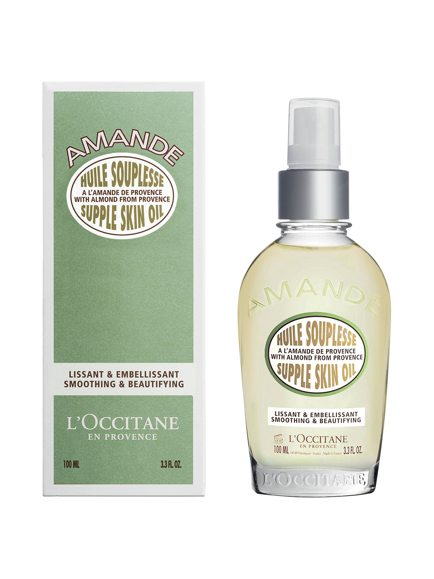 l occitane almond skin oil