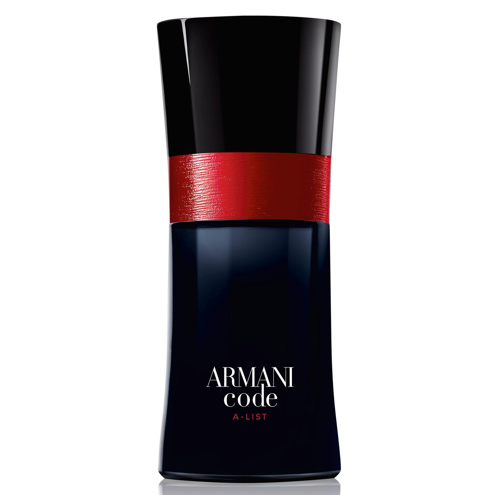 armani code a list
