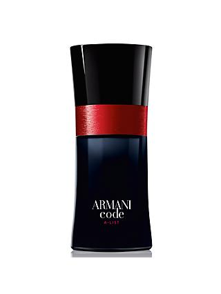 Giorgio Armani Code A-List For Men Limited Edition Eau de Toilette