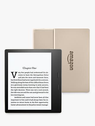 Kindle ereaders kindle ebook reader kobo john lewis new amazon kindle oasis ereader 7 high resolution display waterproof built fandeluxe Images